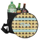 Poop Emoji Collapsible Cooler & Seat (Personalized)