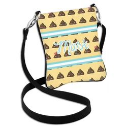 Poop Emoji Cross Body Bag - 2 Sizes (Personalized)