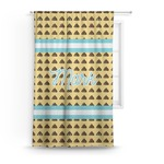Poop Emoji Curtain (Personalized)