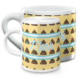Poop Emoji Espresso Cups (Personalized)