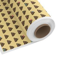 Poop Emoji Custom Fabric by the Yard (Personalized)