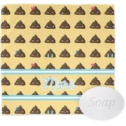 Poop Emoji Wash Cloth (Personalized)