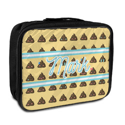 Poop Emoji Insulated Lunch Bag (Personalized)