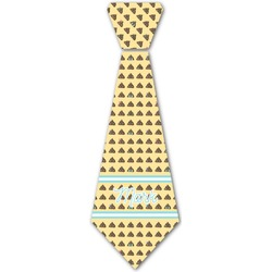 Poop Emoji Iron On Tie (Personalized)