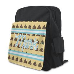 Poop Emoji Preschool Backpack (Personalized)