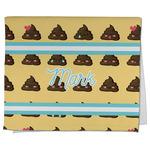 Poop Emoji Kitchen Towel - Full Print (Personalized)