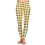 Poop Emoji Ladies Leggings (Personalized)