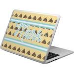 Poop Emoji Laptop Skin - Custom Sized (Personalized)