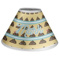 Poop Emoji Coolie Lamp Shade (Personalized)