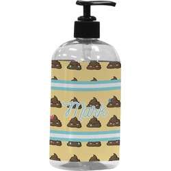 Poop Emoji Plastic Soap / Lotion Dispenser (Personalized)
