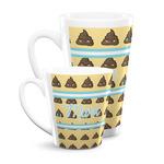Poop Emoji Latte Mug (Personalized)