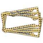 Poop Emoji License Plate Frame (Personalized)
