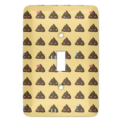 Poop Emoji Light Switch Covers (Personalized)