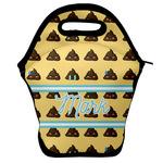 Poop Emoji Lunch Bag w/ Name or Text