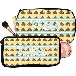 Poop Emoji Makeup / Cosmetic Bag (Personalized)