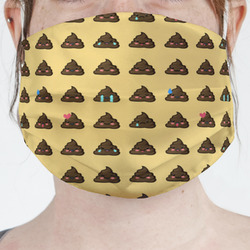 Poop Emoji Face Mask Cover (Personalized)
