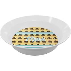 Poop Emoji Melamine Bowls (Personalized)
