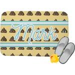 Poop Emoji Memory Foam Bath Mat (Personalized)
