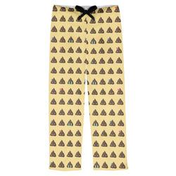 Poop Emoji Mens Pajama Pants (Personalized)