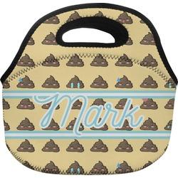 Poop Emoji Lunch Bag (Personalized)