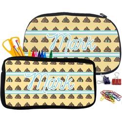 Poop Emoji Pencil / School Supplies Bag (Personalized)