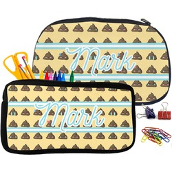 Poop Emoji Pencil / School Supplies Bag (Personalized)