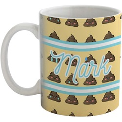 Poop Emoji Coffee Mug (Personalized)