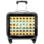 Poop Emoji Pilot / Flight Suitcase (Personalized)