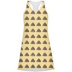 Poop Emoji Racerback Dress (Personalized)