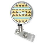 Poop Emoji Retractable Badge Reel (Personalized)