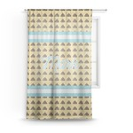 Poop Emoji Sheer Curtains (Personalized)
