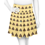 Poop Emoji Skater Skirt (Personalized)