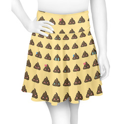 Poop Emoji Skater Skirt (Personalized)
