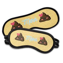 Poop Emoji Sleeping Eye Masks (Personalized)
