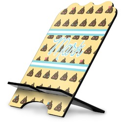 Poop Emoji Stylized Tablet Stand (Personalized)