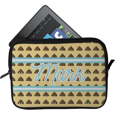 Poop Emoji Tablet Case / Sleeve (Personalized)