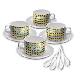 Poop Emoji Tea Cup - Set of 4 (Personalized)