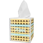Poop Emoji Tissue Box Cover (Personalized)