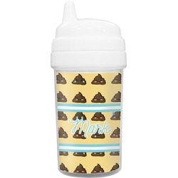 Poop Emoji Sippy Cup (Personalized)