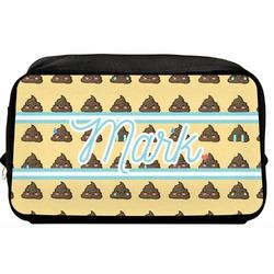Poop Emoji Toiletry Bag / Dopp Kit (Personalized)