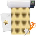 """Poop Emoji Heat Transfer Vinyl Sheet (12""""x18"""")"""