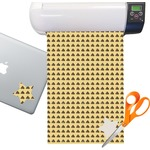 Poop Emoji Sticker Vinyl Sheet (Permanent)