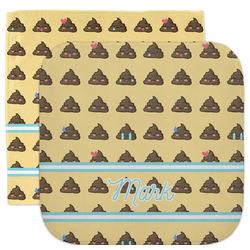 Poop Emoji Facecloth / Wash Cloth (Personalized)
