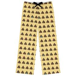 Poop Emoji Womens Pajama Pants (Personalized)