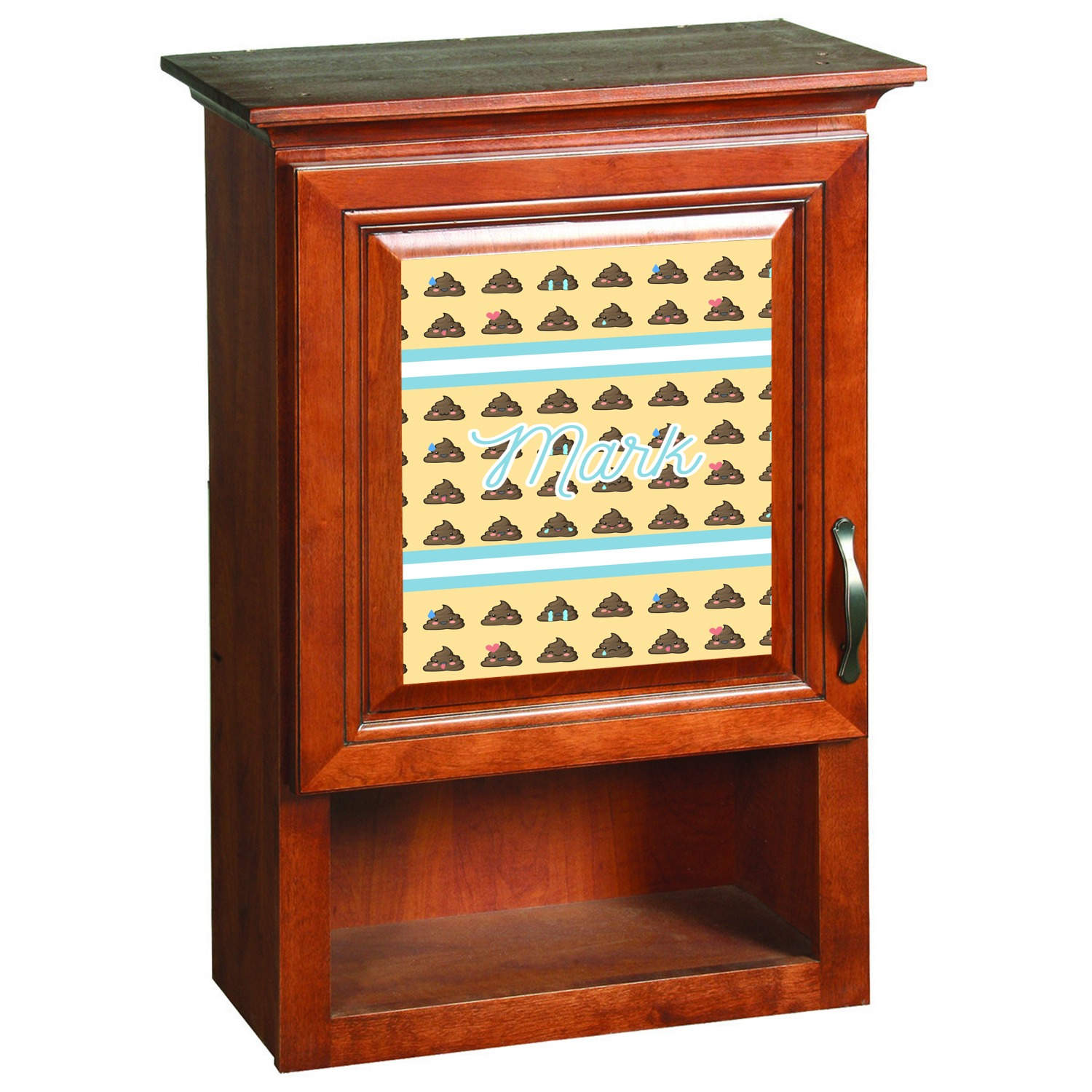 Poop emoji cabinet decal custom size personalized for Kitchen cabinets lowes with how to make decal stickers