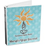 Sundance Yoga Studio 3-Ring Binder (Personalized)