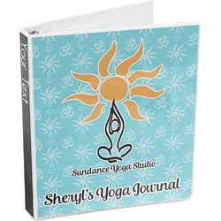 Sundance Yoga Studio 3-Ring Binder (Personalized)