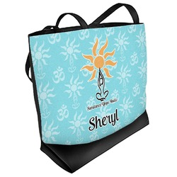 Sundance Yoga Studio Beach Tote Bag (Personalized)