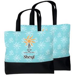 Sundance Yoga Studio Beach Tote Bag (Personalized)