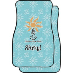 Sundance Yoga Studio Car Floor Mats (Front Seat) (Personalized)
